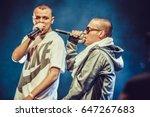 moscow 2 october 2014  big... | Shutterstock . vector #647267683
