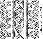 seamless geometric pattern.... | Shutterstock .eps vector #647274040
