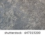 old cement wall background | Shutterstock . vector #647315200