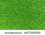 green lawn for background.... | Shutterstock . vector #647320930