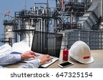engineering industry concept in ... | Shutterstock . vector #647325154