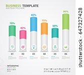 infographics elements diagram... | Shutterstock .eps vector #647327428