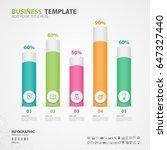 infographics elements diagram... | Shutterstock .eps vector #647327440