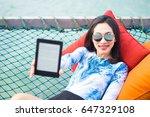 young beautiful woman in...   Shutterstock . vector #647329108