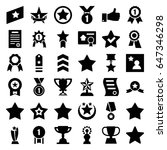 best icons set. set of 36 best... | Shutterstock .eps vector #647346298