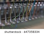 embroidery machine needle in... | Shutterstock . vector #647358334