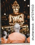 Thailand Buddhist Monk Chanting