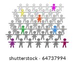 the symbolic image of bright... | Shutterstock .eps vector #64737994