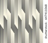 seamless halftone wallpaper.... | Shutterstock .eps vector #647411068