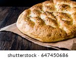 turkish ramadan pita or ramazan ... | Shutterstock . vector #647450686