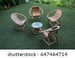 chair set | Shutterstock . vector #647464714