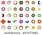 a set of logos  icons and... | Shutterstock . vector #647477683