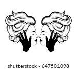 vector hand drawn illustration...   Shutterstock .eps vector #647501098