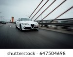 riga  march 17  2017   white... | Shutterstock . vector #647504698
