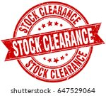 stock clearance round grunge... | Shutterstock .eps vector #647529064
