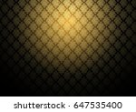 vector abstract gold exotic... | Shutterstock .eps vector #647535400