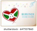 heart logo made from the flag...   Shutterstock .eps vector #647537860