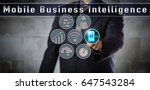 blue chip data manager is... | Shutterstock . vector #647543284