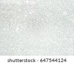 silver glitter | Shutterstock . vector #647544124
