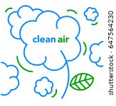 clean air | Shutterstock .eps vector #647564230