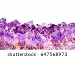 macro view of  a raw fragment... | Shutterstock . vector #647568973