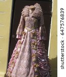 old fashioned dress | Shutterstock . vector #647576839