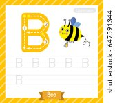 letter b uppercase tracing...