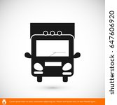truck sign icons  vector best... | Shutterstock .eps vector #647606920
