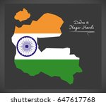 dadra and nagar haveli map with ...   Shutterstock .eps vector #647617768