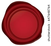 wax seal | Shutterstock .eps vector #647648764