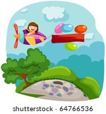 illustration of cartoon... | Shutterstock . vector #64766536