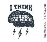 hand drawn inspirational label... | Shutterstock .eps vector #647666290
