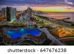 Aerial View Over Punta Del Est...
