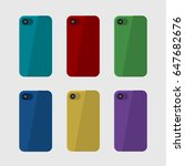 red  blue  green  yellow ... | Shutterstock .eps vector #647682676