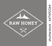 vector logo template for honey...   Shutterstock .eps vector #647692264