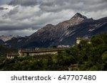 castle bellinzona   Shutterstock . vector #647707480