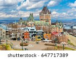 View Of Chateau Frontenac In...