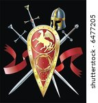 heraldic composition   Shutterstock .eps vector #6477205