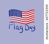 flag day. vector illustration.   Shutterstock .eps vector #647721544