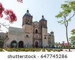 oaxaca  mexico   april 17  2017 ... | Shutterstock . vector #647745286