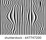 black and white stripes... | Shutterstock . vector #647747200