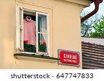 prague  czech republic   april... | Shutterstock . vector #647747833