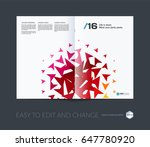 abstract annual report ... | Shutterstock .eps vector #647780920