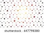 dark red vector of small... | Shutterstock .eps vector #647798380