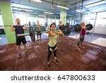fitness  sport  training ... | Shutterstock . vector #647800633