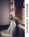 bridal fashion | Shutterstock . vector #647803648