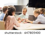 education  children  technology ... | Shutterstock . vector #647805400
