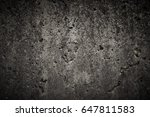 old dirty concrete wall... | Shutterstock . vector #647811583