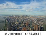 new york city  | Shutterstock . vector #647815654