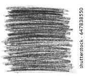hatching grunge graphite pencil ... | Shutterstock . vector #647838550